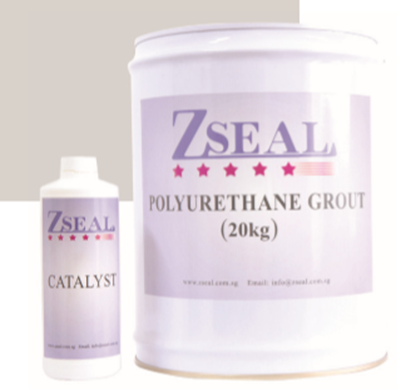 POLYURETHANE GROUT WITH CATALYST